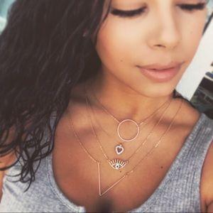 Jewelry - 🆕 Layered Eye necklace